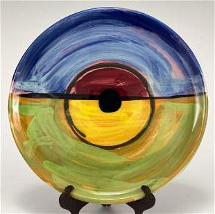 Peter Shire (Born 1947) Expo 2000 Plate