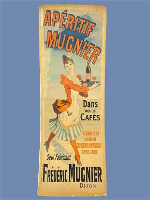 Aperitif Mugnier by Julius Cheret, Large French