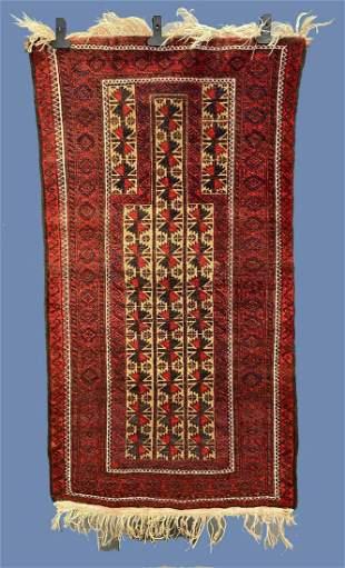 Vintage Afghan Balouch Rug