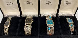 Vintage Native USA Quartz Watches
