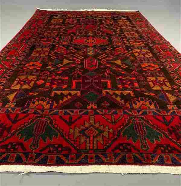 Persian Hamadan Rug wool on cotton