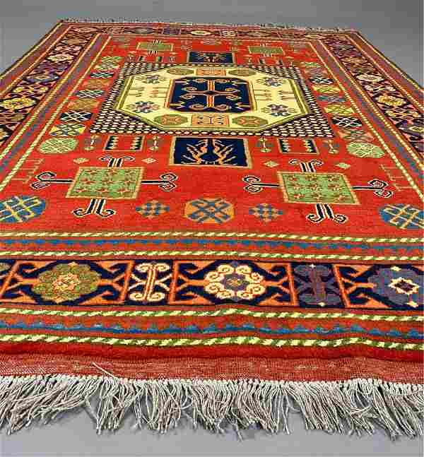 Sari Pal-Kazak rug, wool, Rug ca 1990