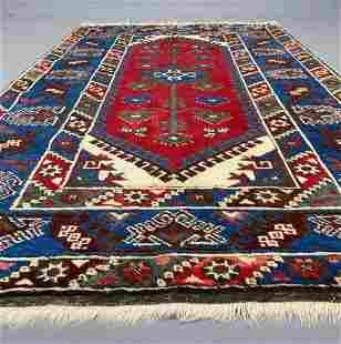 Turkish dosemalty rug, wool, ca 1970