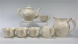 7 Piece Wedgwood Of Etruria And Barlaston Tea Set.