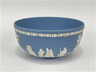 Blue & White Wedgwood Bowl