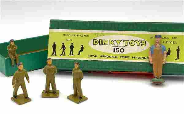 Dinky Toys 150 Royal Armoured Corps Personel