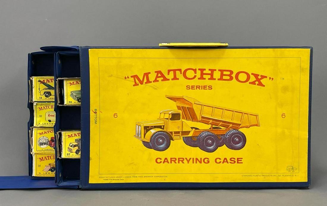 25 Matchbox Cars in Matchbox Carrying Case