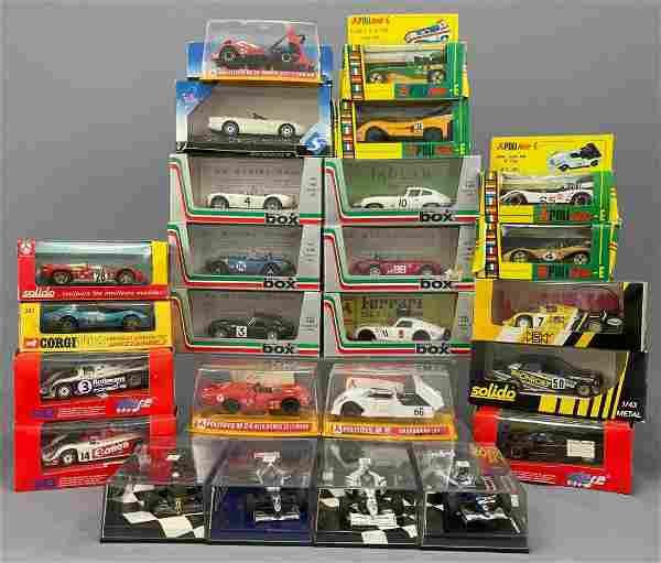 25 Model Cars: Solido, Corgi, Vitesse, and Others