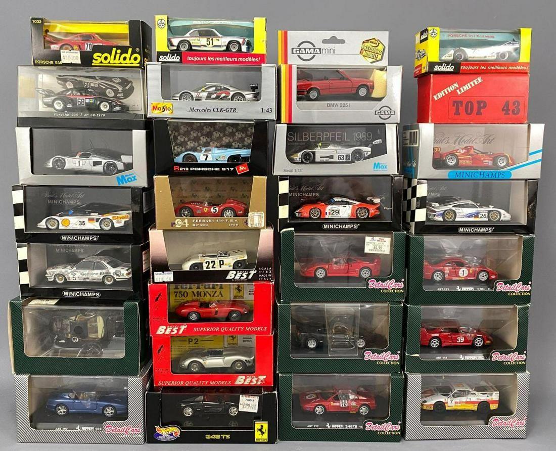 Diecast Model Cars, Solico, Minichamps, Models Max
