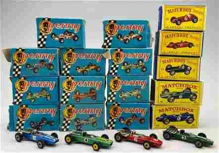 20 Matchbox & Politoys Diecast Cars