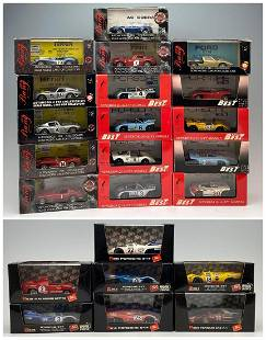 23 Diecast Cars by Bang, Brumm, Model Best, and Others