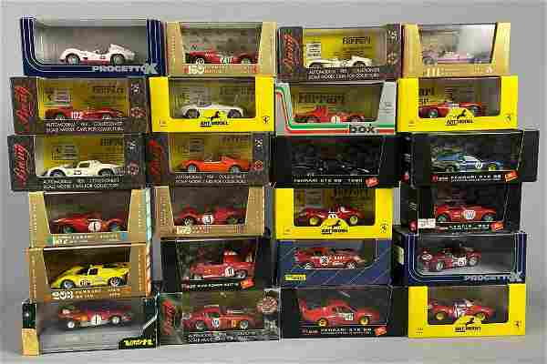 24 Model Cars by Verem, Brumm, Bang, and Others, 1:43