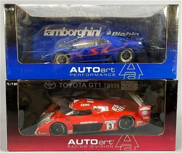 2 Autoart Model Cars