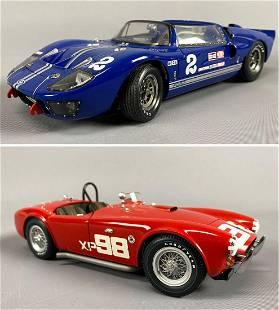 2 Racing Legends Diecast Model Cars