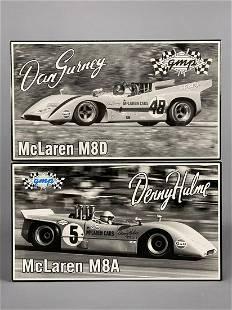 2 GMP McLaren Diecast Model Cars