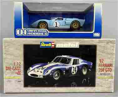 Revell and Universal Hobbies Diecast Cars