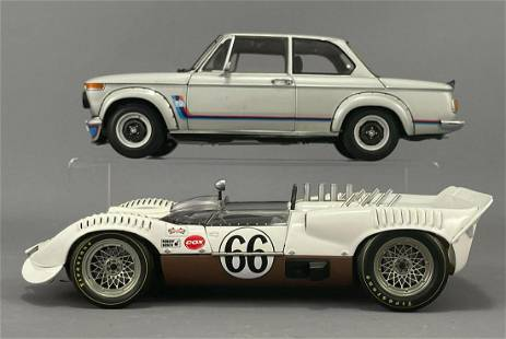 2 Diecast Model Cars by Kyosho and Autoart Millennium