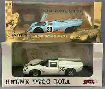 2 Diecast Model Cars by GMP and Autoart