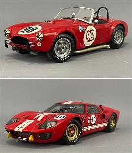 2 Exoto Racing Legends Model Cars