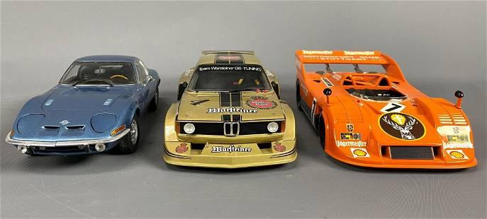 3 Minichamps Diecast Model Cars