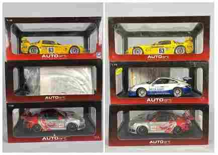 3 Autoart Diecast Model Cars