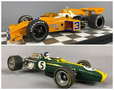 Grand Prix and Carousel 1 Diecast Model Cars