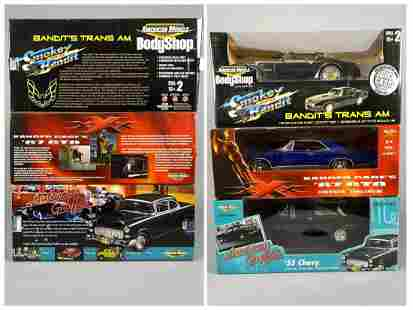 3 Ertl Collectables Diecast Model Cars