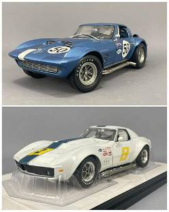 2 Model Cars by Exoto Racing Legends and Carousel 1