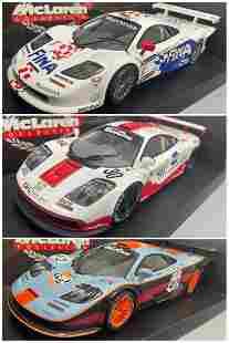 3 UT Model McLaren Collection Model Cars