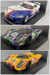 3 Autoart Racing Division Model Cars