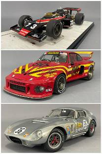3 Model Cars by Exoto Racing Legends and Carousel 1