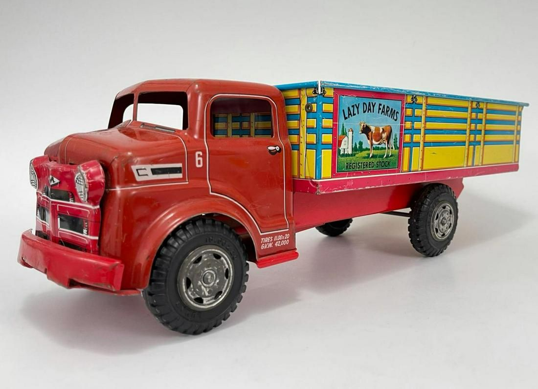 Lazy Day Farms Truck by Marx Toys