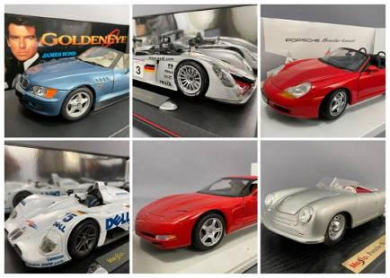 6 Diecast Model Cars Maisto And UT Models