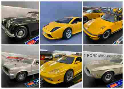6 Assorted Diecast Model Cars
