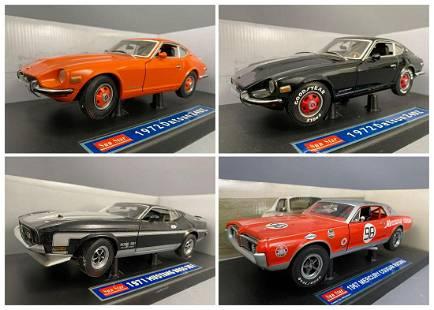 4 Sun Star Diecast Model Cars