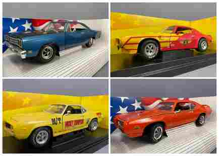 4 Ertl Collectables Diecast Model Cars