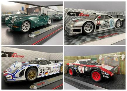 4 Diecast Model Cars Kyosho And Maisto