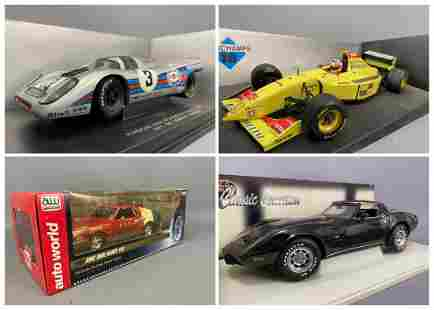 4 Assorted Diecast Model Cars