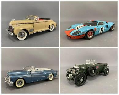 4 Diecast Model Cars