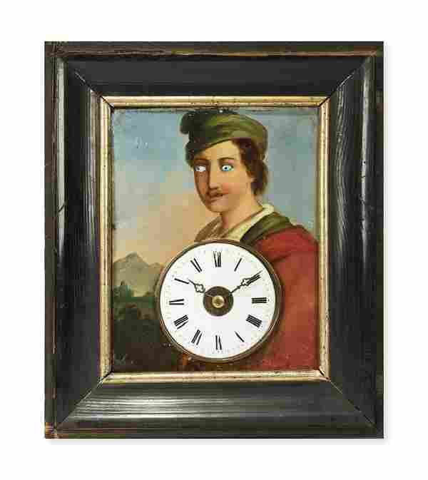 BLACK FOREST WALL CLOCK Germany, end of 19th Century