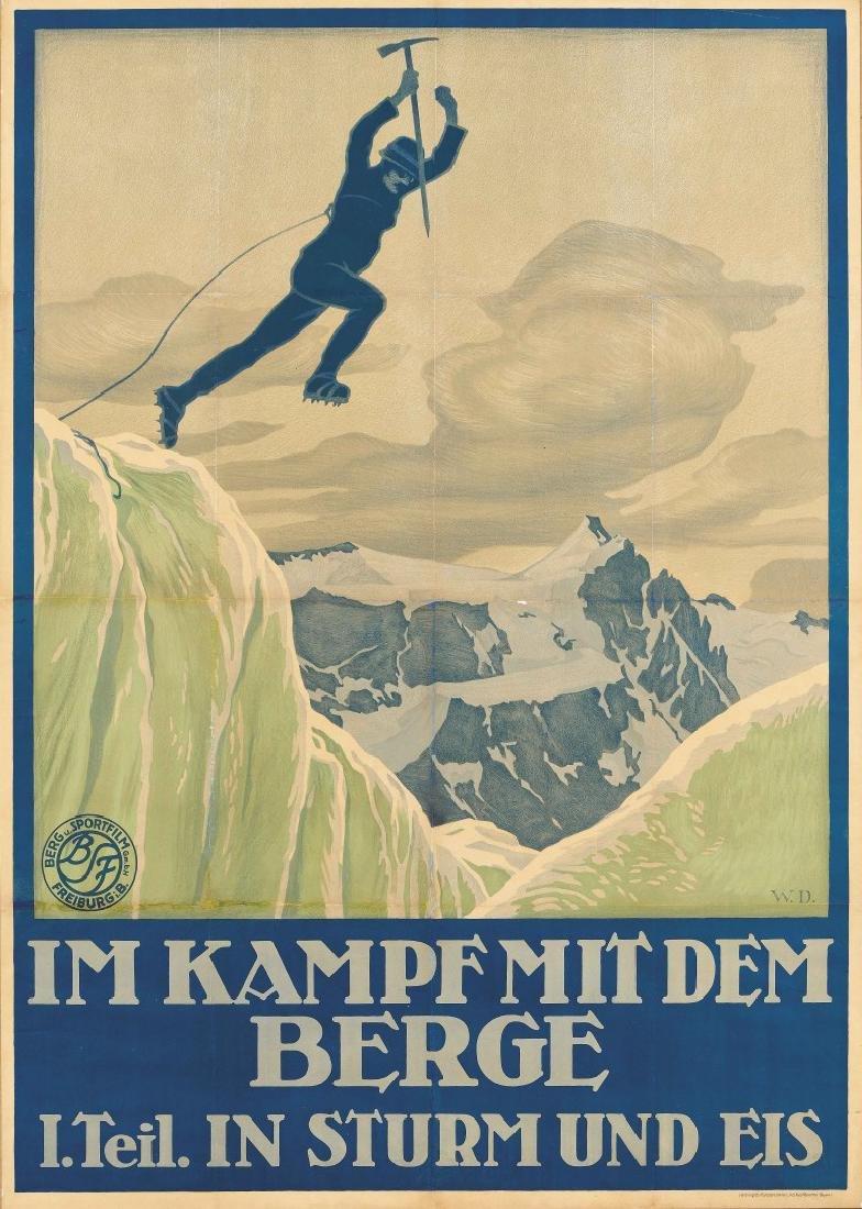 W.D.  Im Kampf mit dem Berge