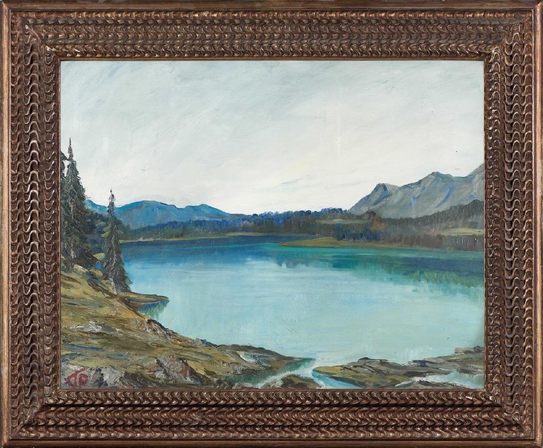 PAOLO PUNZO  1906-1979 Lago Palù