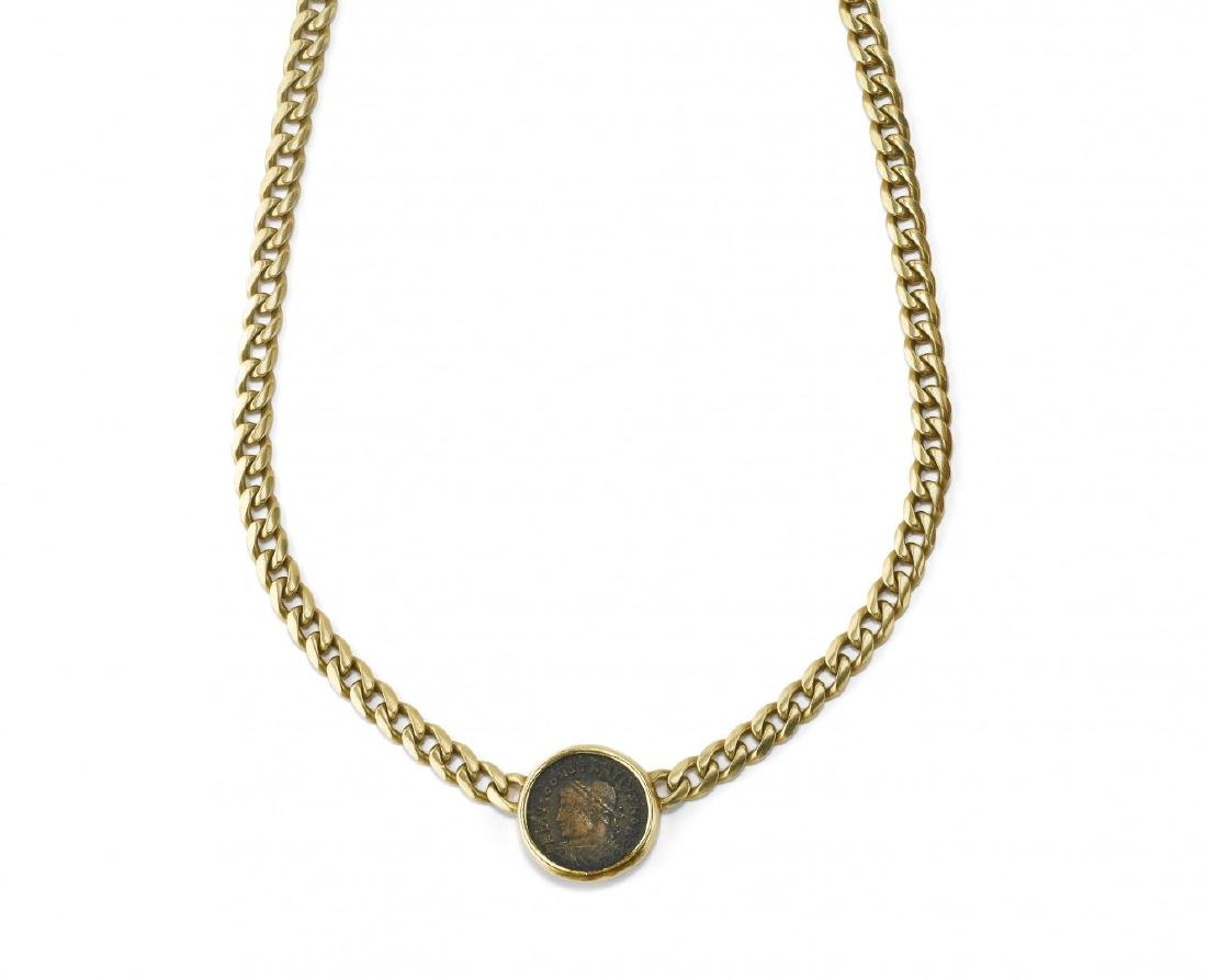 COIN NECKLACE, BULGARI