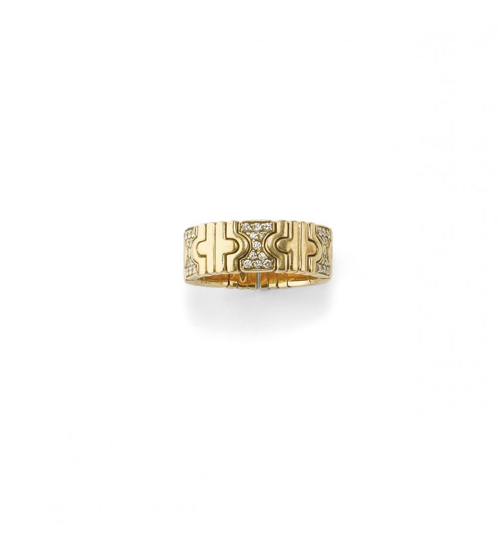 "DIAMOND ""PARENTESI"" RING, BULGARI"