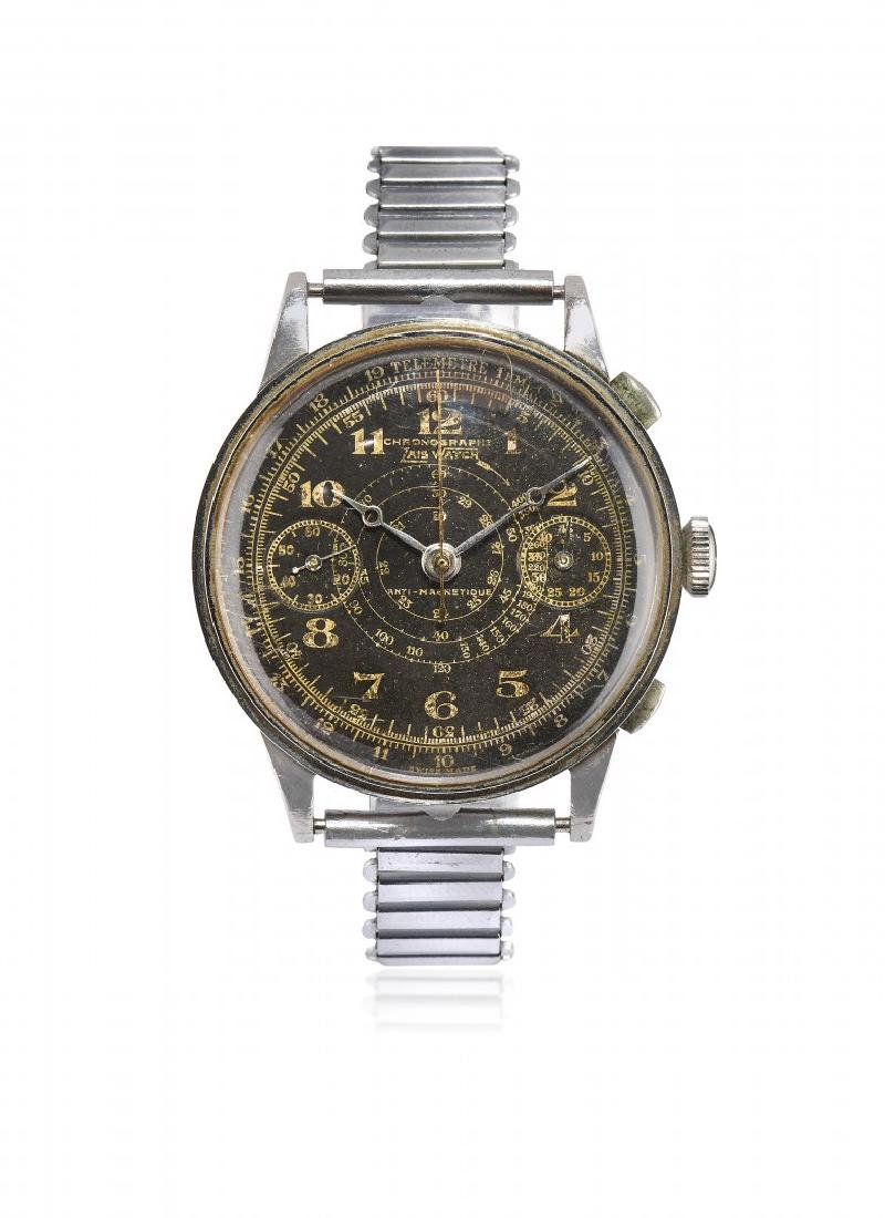 MEN'S WRISTWATCH ZAIS WITH CHRONOGRAPH, '40S