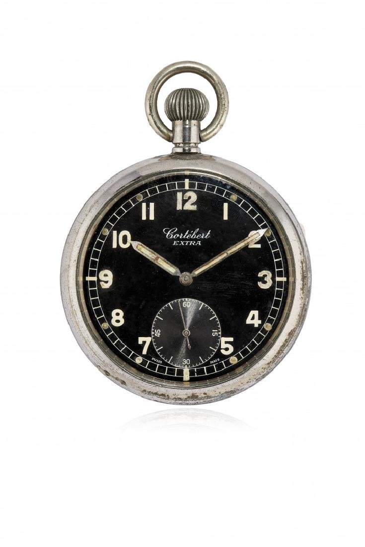 KEY-LESS POCKET WATCH CORTÈBERT FOR THE ENGLISH ARMY,