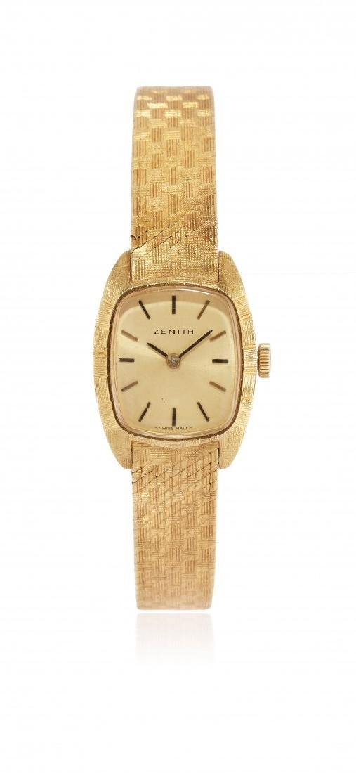 LADIES GOLD WRISTWATCH ZENITH, '60S