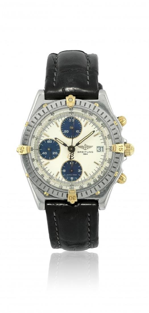MEN'S WRISTWATCH BREITLING CHRONOMAT B13050, 1990