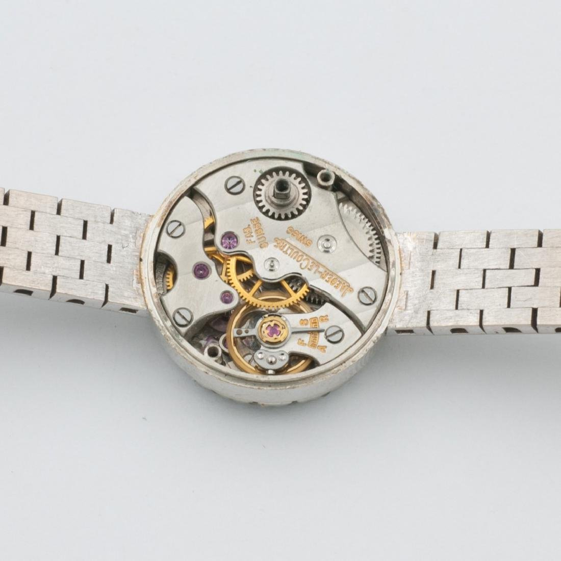 LADIES WHITE GOLD WRISTWATCH JAEGER-LECOULTRE, '60S