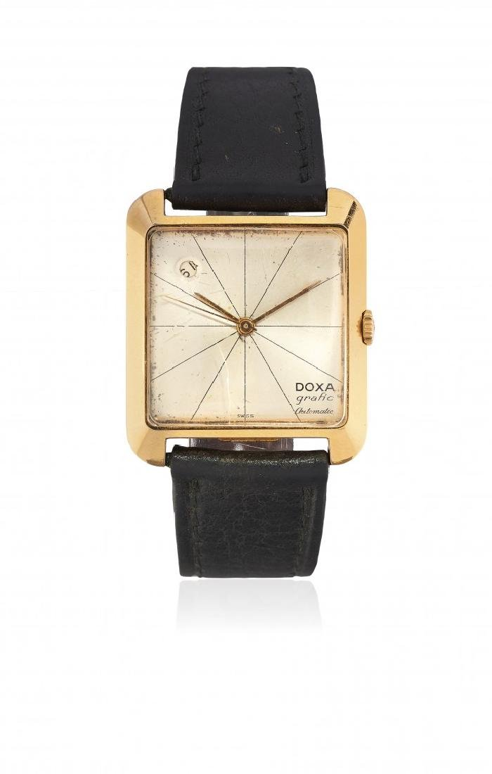 MEN'S GOLD WRISTWATCH DOXA GRAFIC, '70S